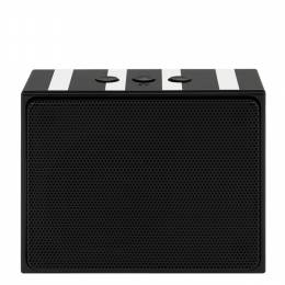 kate spade NEW YORK Black Stripes Portable Bluetooth Speaker