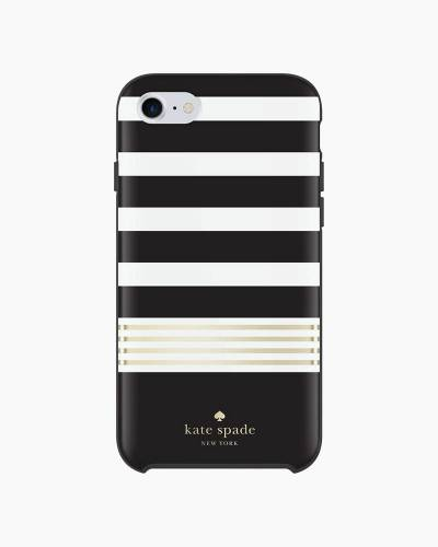 Black Stripe iPhone 7 Case
