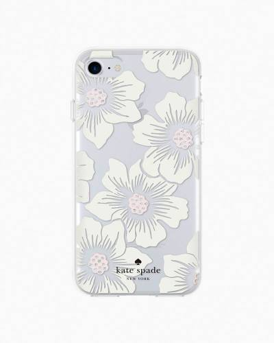 Hollyhocks iPhone 7 Case