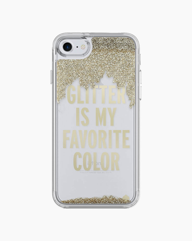 Kate Spade Glitter is My Favorite Color iPhone 7 Case