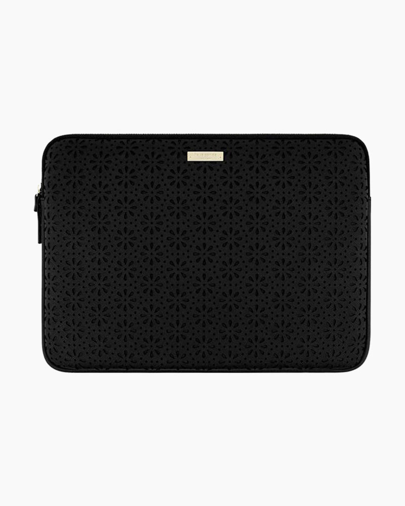 Kate Spade Saffiano Leather Laptop Case in Black