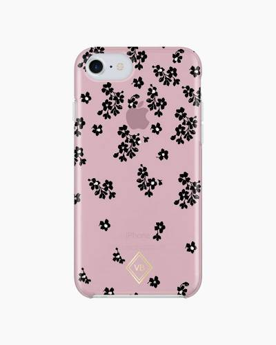 iPhone 7 Case in Floral Ditsy Dot Pink