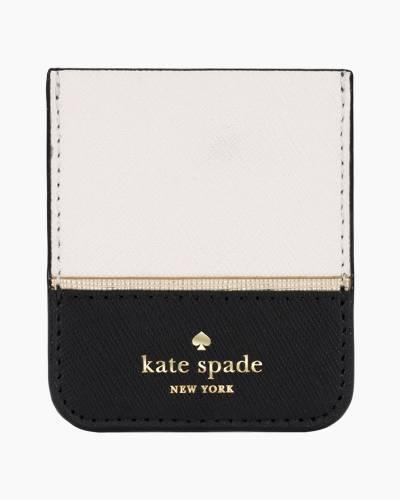Sticker Phone Pocket in Gold