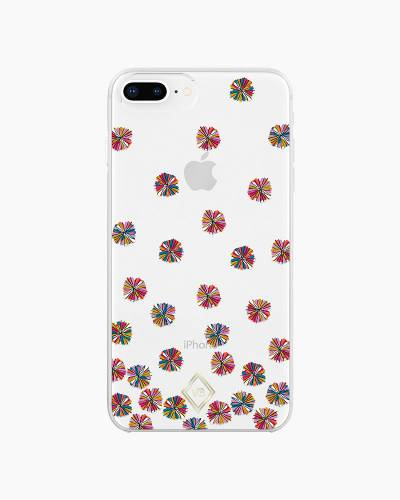 Flexible Frame Case for iPhone in Summer Vibes (8 Plus, 7 Plus, 6 Plus, 6S Plus)