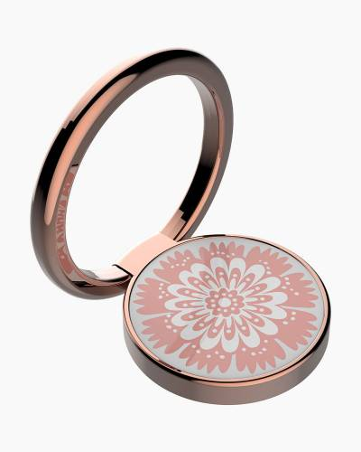 Universal Stability Ring in Rose Gold Bandana Swirl