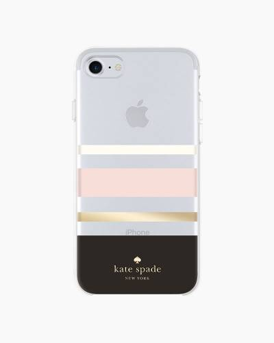 Charlotte Stripe Chevron iPhone 8 Case