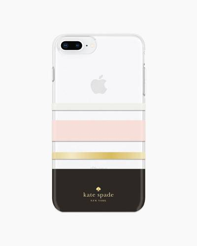 Charlotte Stripe Chevron iPhone 8 Plus Case