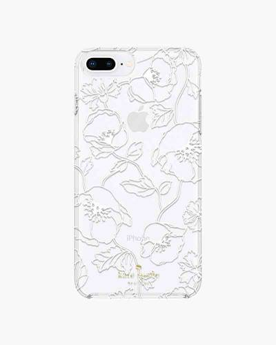 White Dreamy Floral iPhone 8 Plus Case
