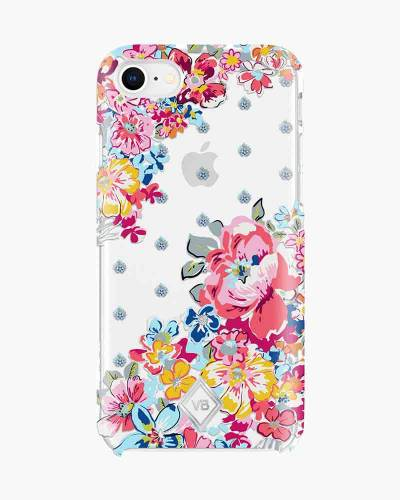 Flexible Frame Case for iPhone in Pretty Posies (8, 7, 6, 6S)