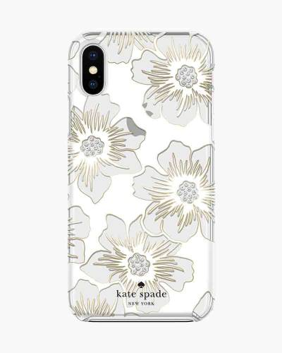 Reverse Hollyhocks iPhone 8 Case