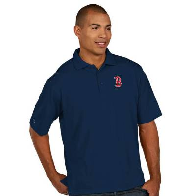 Boston Red Sox Men's Pique Xtra-Lite Polo Shirt