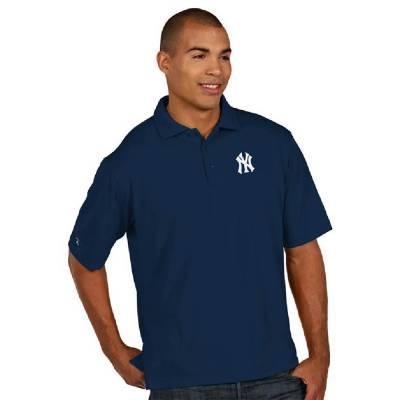 New York Yankees Men's Pique Xtra-Lite Polo Shirt