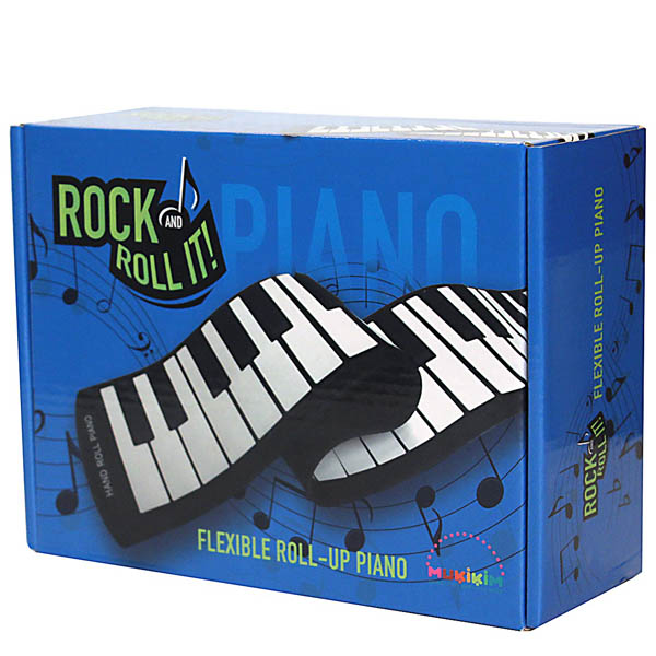 Mukikim Rock and Roll It! Flexible Roll-Up Piano