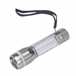Outback Flashlights miniJoey Three-Way Flashlight in Grey