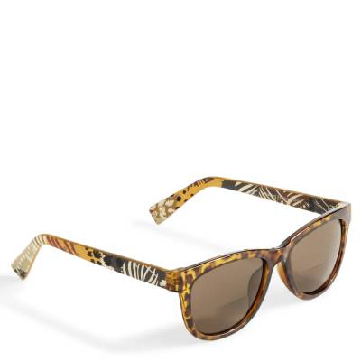 Estelle Reading Sunglasses in Painted Feathers