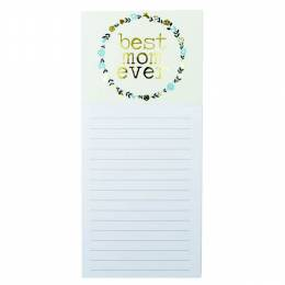 Mary Square Best Mom Ever Magnetic List Pad