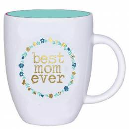 Mary Square Best Mom Ever Mug
