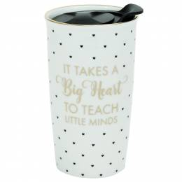 Mary Square Teach Little Minds Travel Mug