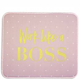 Mary Square Work Like a Boss Mousepad