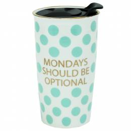 Mary Square Mondays Should be Optional Travel Mug
