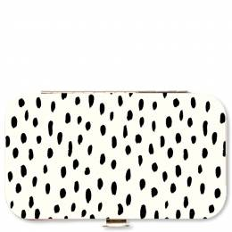 Mary Square Black Spots Manicure Set