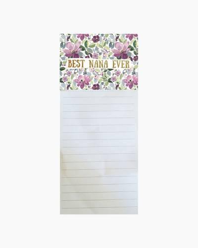 Best Nana Ever Notepad