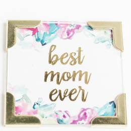Mary Square Best Mom Ever Magnet