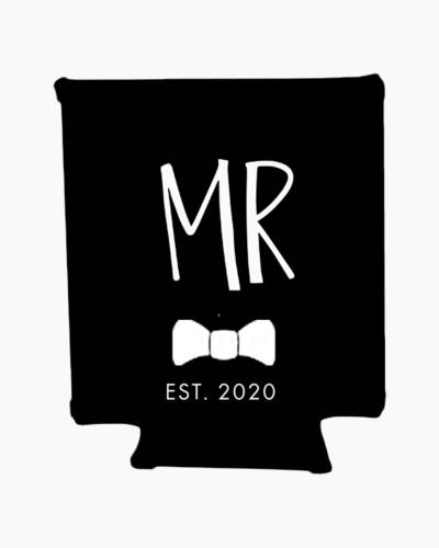 Mr. Est. 2020 Groom Beverage Sleeve