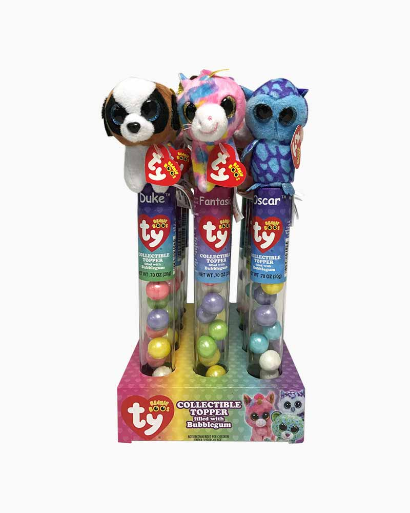 Ty Beanie Boo's Plush Candy Tube Topper (Assorted Styles)