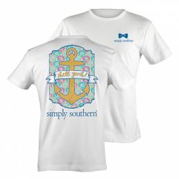 Simply Southern Women's Shell Yeah Short Sleeve Tee