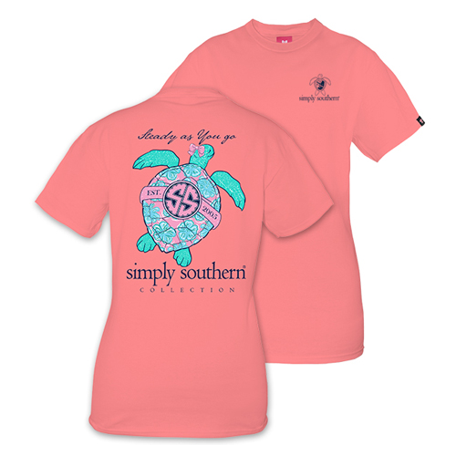 Simply Southern Women's Steady as You Go Short Sleeve Tee