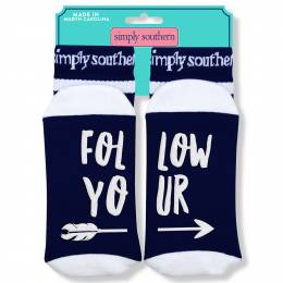 Simply Southern Follow Your Arrow Women's Statement Socks