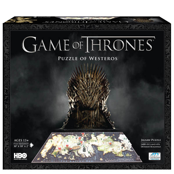 4D Cityscape Game of Thrones 4D Puzzle of Westeros