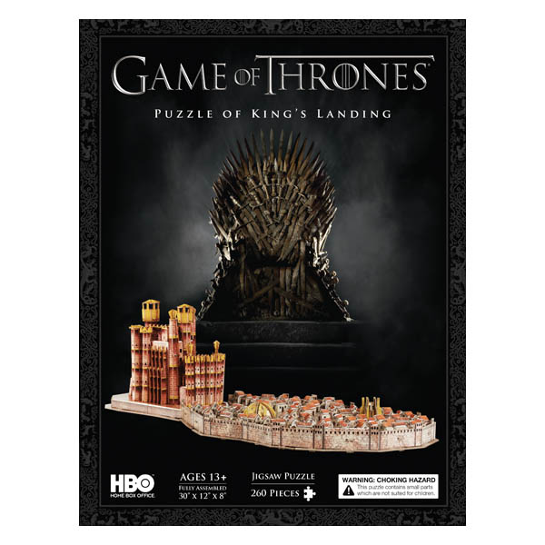 4D Cityscape Game of Thrones King's Landing 4D Puzzle