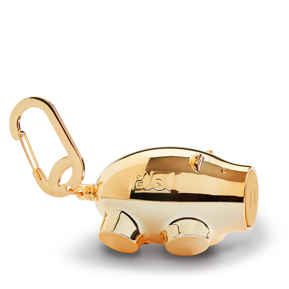 BUQU Chubs Pig Power Bank in Gold