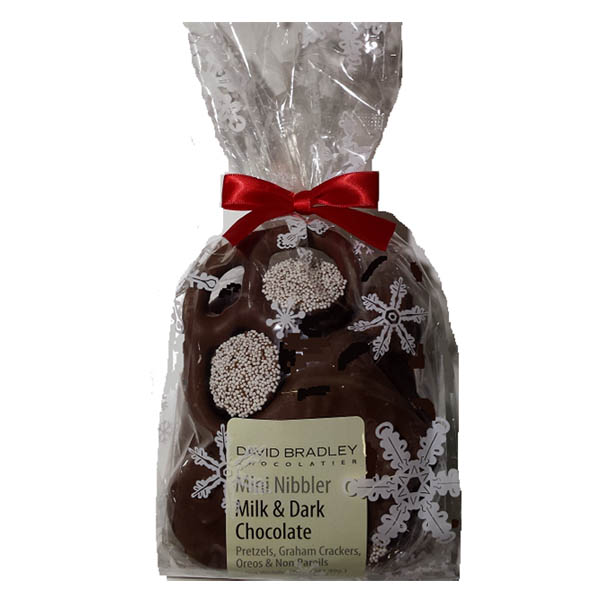 David Bradley Chocolatier Milk and Dark Chocolate Nibbler