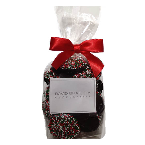 David Bradley Chocolatier Milk Chocolate Holiday Nonpareils