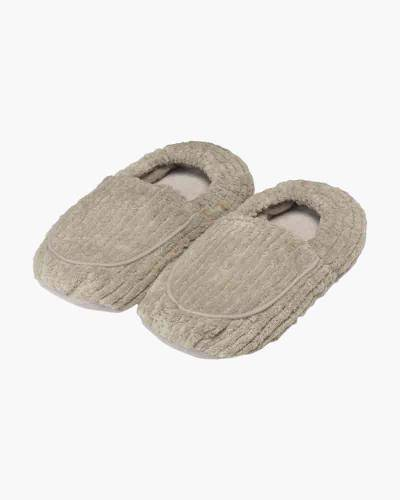 Lavender Scented Spa Therapy Slippers in Grey