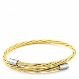 Wear Your Music Guitar Gold Thin Guitar String Bracelet