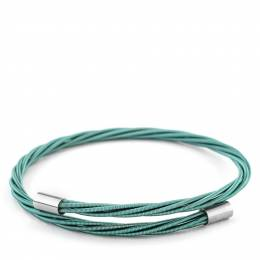 Wear Your Music Totally Teal Thin Guitar String Bracelet