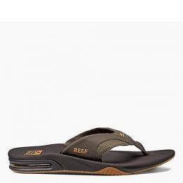 Reef Men's Fanning Sandals in Brown