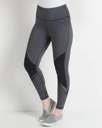 Heather Grey Athleisure Leggings