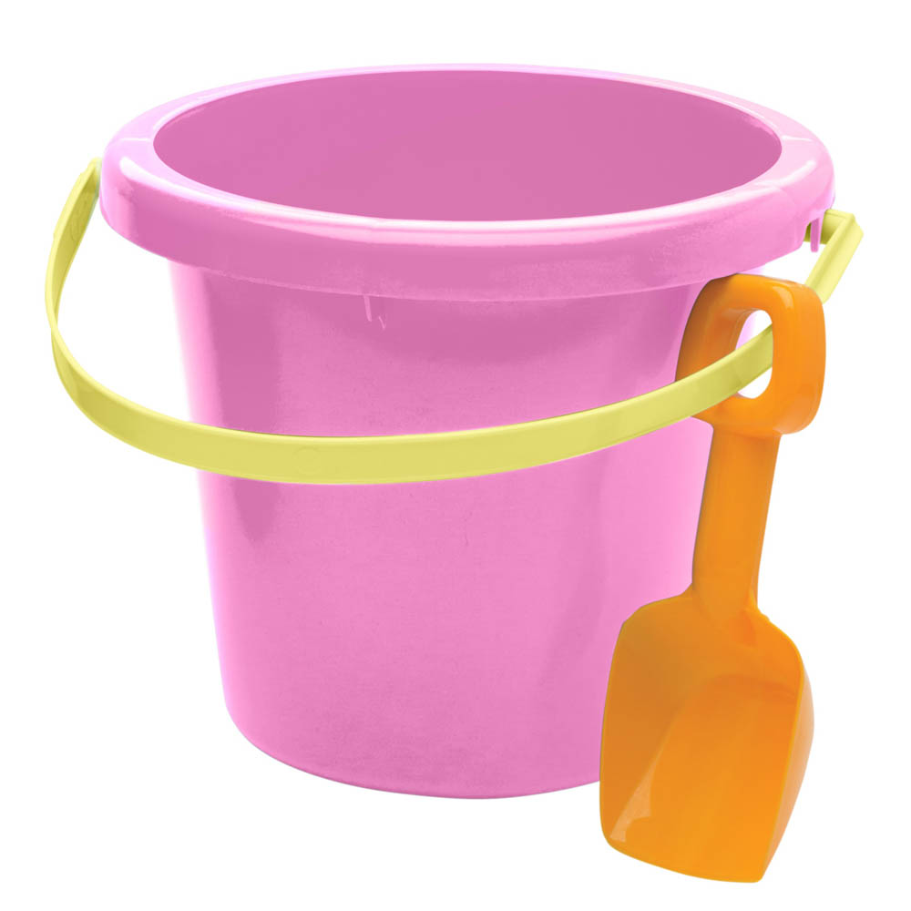 American Plastic Toys, Inc. Pail and Shovel Set in Pink