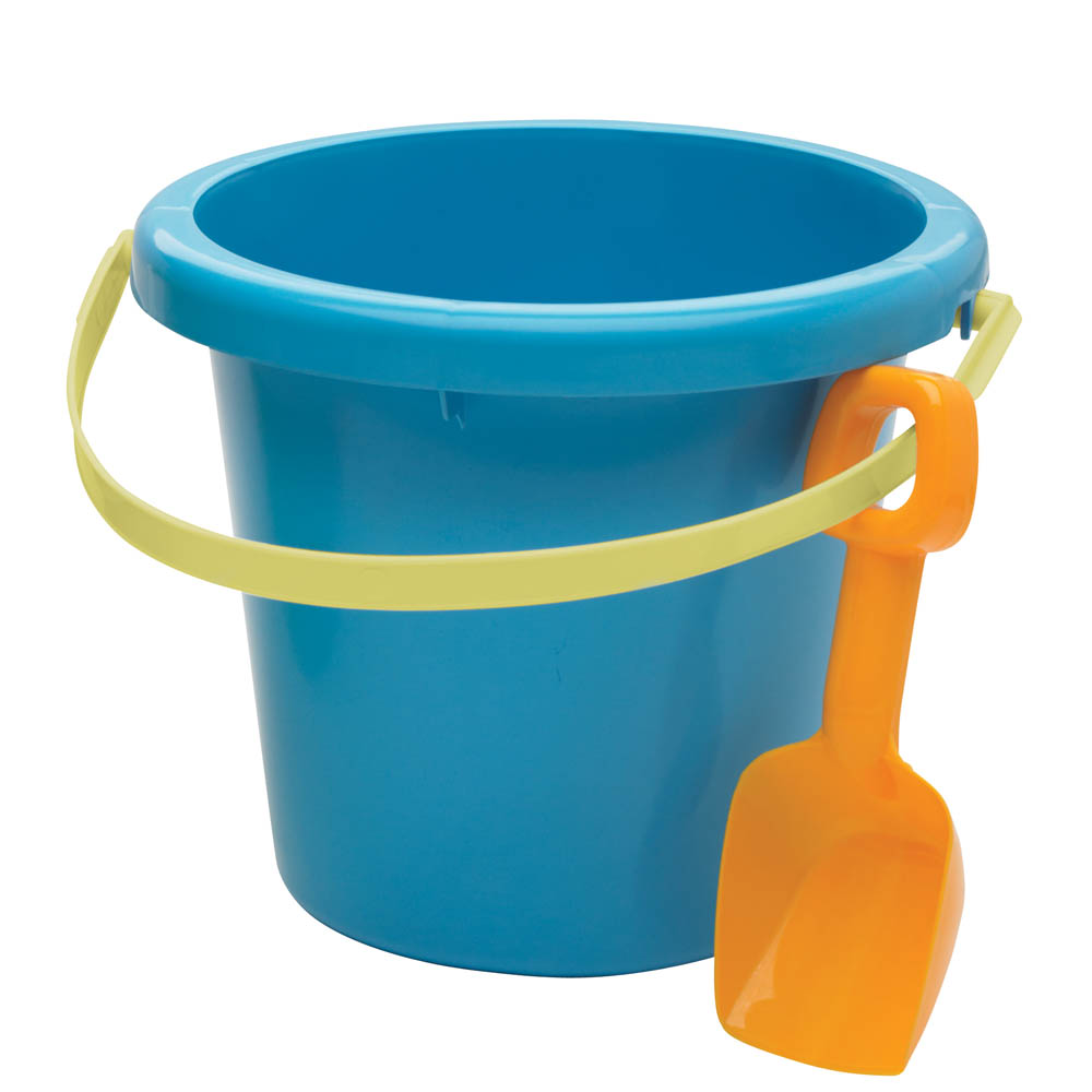 American Plastic Toys, Inc. Pail and Shovel Set in Blue