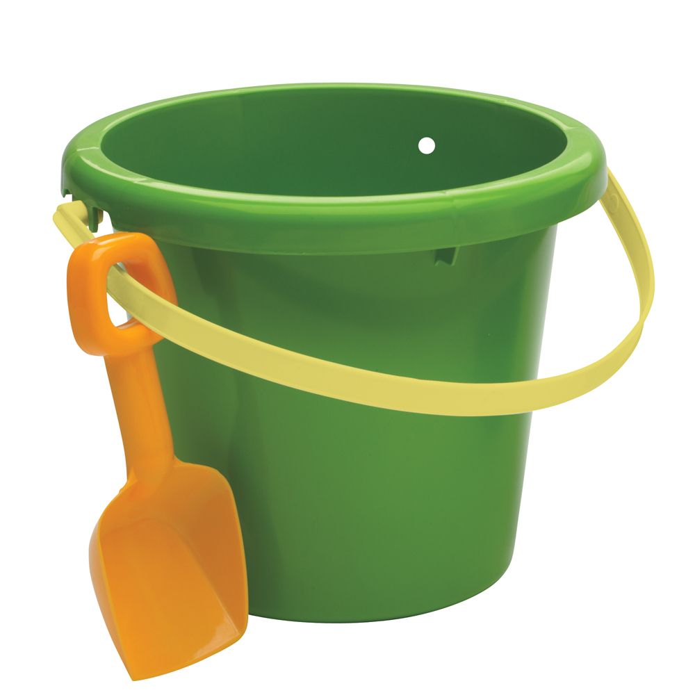 American Plastic Toys, Inc. Pail and Shovel Set in Green