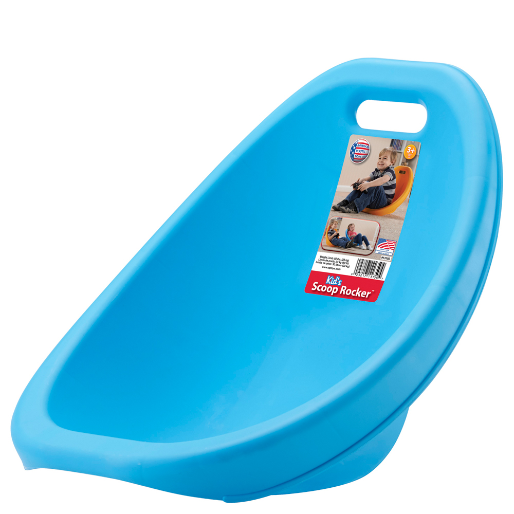 American Plastic Toys, Inc. Kid's Scoop Rocker (Assorted Colors)