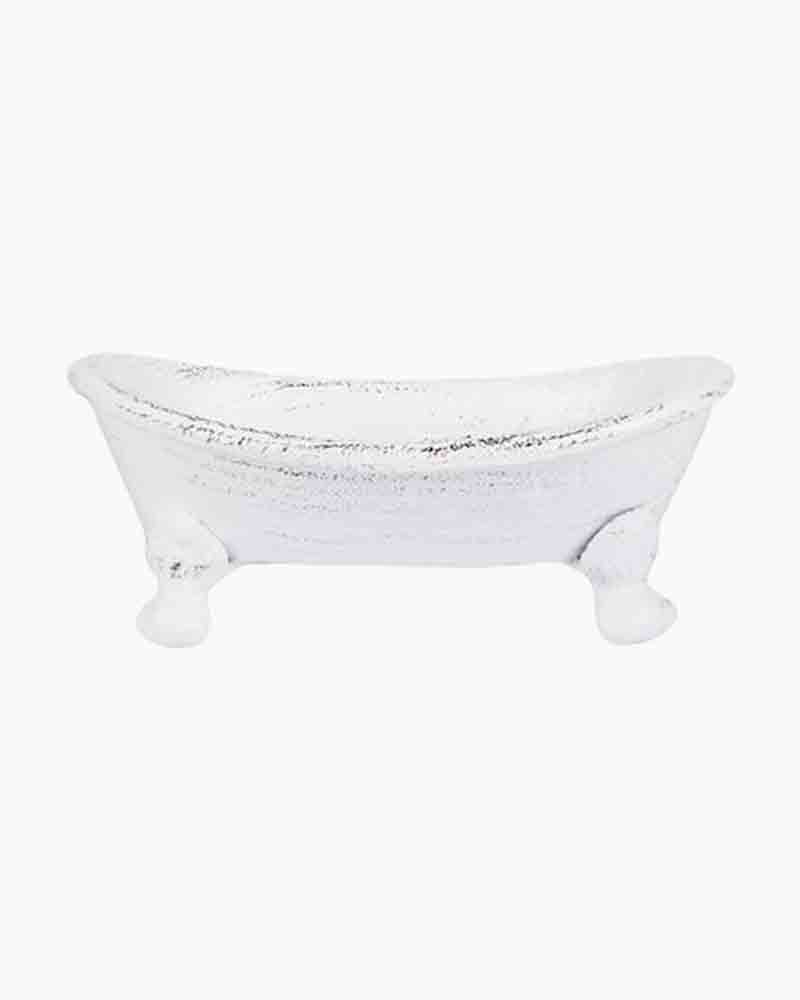 Finchberry Cast Iron Tub Soap Dish | The Paper Store