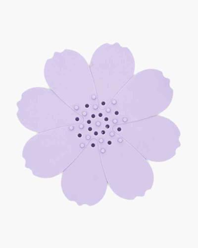 Purple Flower Silicone Soap Dish