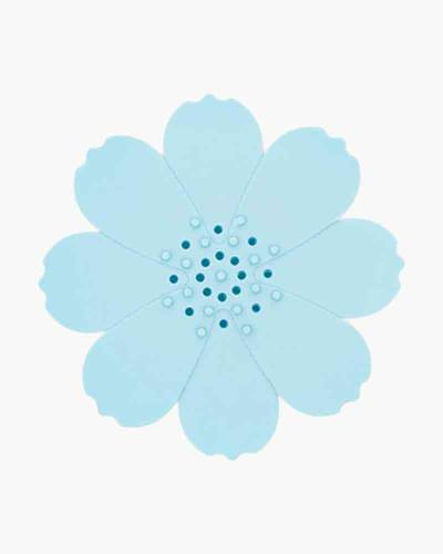 Blue Flower Silicone Soap Dish