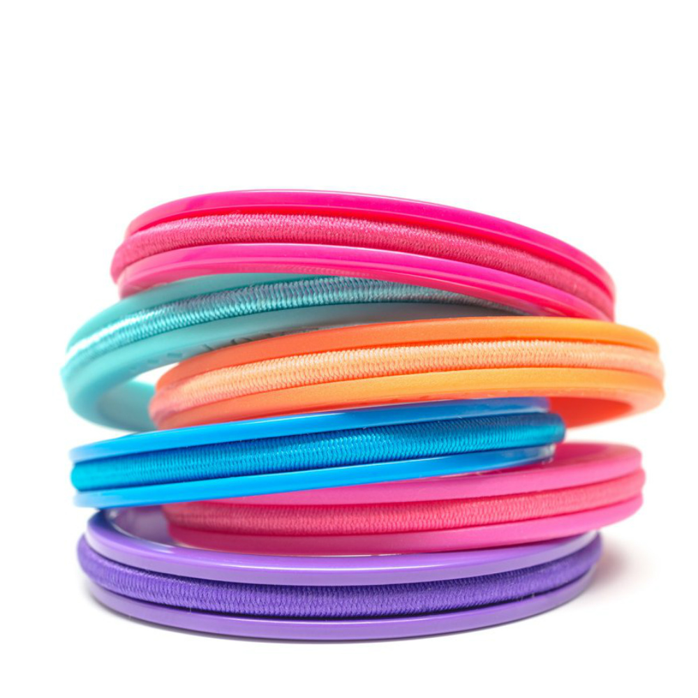 Maria Shireen Kids Hair Tie Bracelets Set (6-Pack)